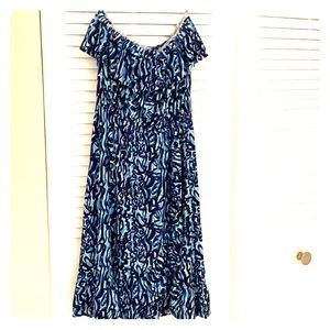 Lilly Pulitzer strapless dress xs